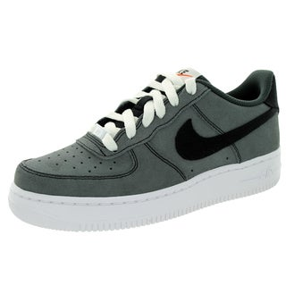 Nike Kid's Air Force 1 (Gs) Black/Black/White/Anthracite Basketball Shoe