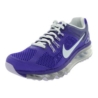 Nike Kid's Air Max 2013 (Gs) Electro Purple/White/Purple Running Shoe