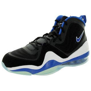 Nike Kid's Air Penny 5 (Gs) Black/Game Royal/White Basketball Shoe