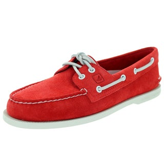 Sperry Top-Sider Men's Authentic Original 2-Eye Red Boat Shoe