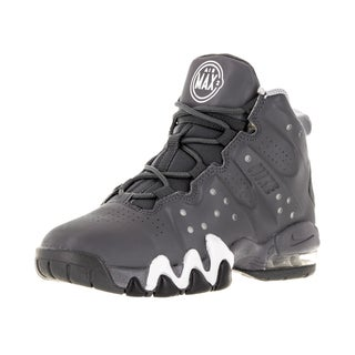 Nike Kid's Air Max Barkley (Ps) Dark Grey/Dark Grey/White/Wlf Basketball Shoe