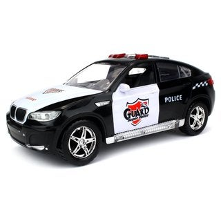Velocity Toys Super Police Guard SUV Battery-operated Kid's Bump-and-go Toy Truck ith Cool Flashing Lights