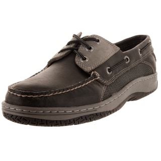 Sperry Top-Sider Men's Billfish 3-Eye Dark Grey Boat Shoe