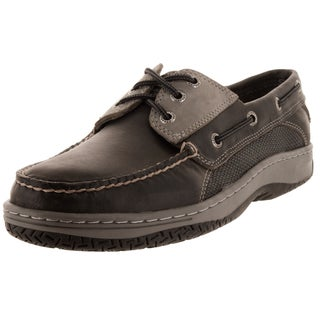 Sperry Top-Sider Men's Billfish 3-Eye Dark Grey Boat Shoe