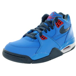 Nike Kid's Air Flight 89' (Gs) /Blue/ Rd/White Basketball Shoe