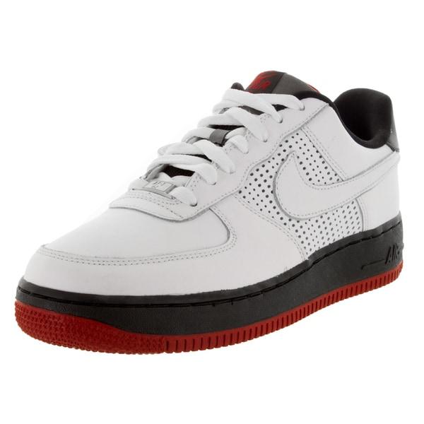 Shop Nike Kid's Air Force 1 Low A (Gs) WhiteWhiteBlack