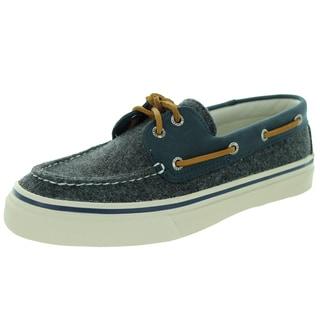 Sperry Top-Sider Men's Bahama Wool Grey/Navy Boat Shoe