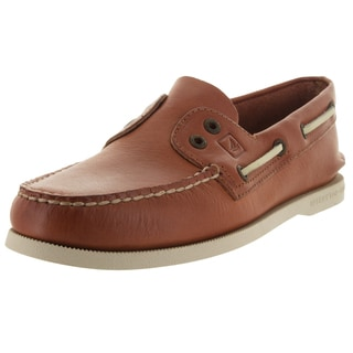 Sperry Top-Sider Men's Authentic Original 2-Eye Slip-On Tan Boat Shoe