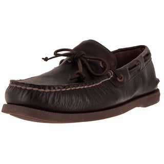 Sperry Top-Sider Men's Authentic Original 1-Eye Dark Brown Boat Shoe