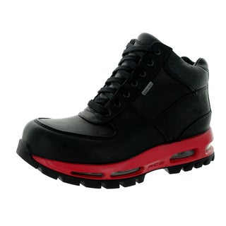 Nike Kid's Air Max Goadome Gtx (Gs) Black/Black/Varsity Red Boot 5.5 Kid's Us