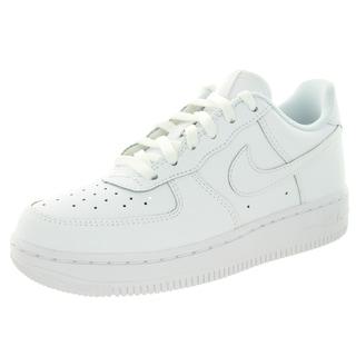 Nike Kid's Force 1 (Ps) White/White/White Basketball Shoe