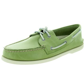 Sperry Top-Sider Men's Authentic Original 2-Eye Free Time Green Boat Shoe