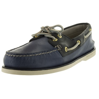 Sperry Top-Sider Men's Gold Authentic Original Blue/Navy/Gold Boat Shoe