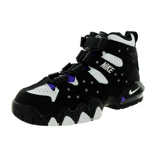 Nike Kid's Air Max Cb '94 (Gs) Black/White/Pure Purple Basketball Shoe