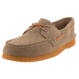 Sperry Top-Sider Men's Authentic Original Ice 2-Eye Sand/Orange Boat Shoe