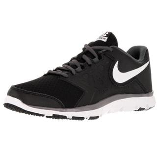 Nike Kid's Flex Supreme Tr 4 (Gs/Ps) Black/White/Dark Grey Training Shoe