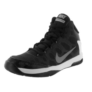 Nike Kid's Air Without A Doubt (Gs) Black/Metallic Silver/Flt Slvr/White Basketball Shoe