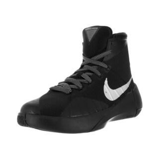 Nike Kid's Hyperdunk 2015 (Gs) Black/Metallic Silver Basketball Shoe