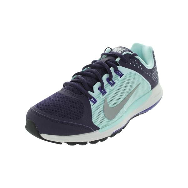 6e5e69fe ... Women's Athletic Shoes. Nike Women's Zoom Elite+ 6 Purple/Rflct  Slvr/ Tnt Running