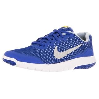 Nike Kid's Flex Experience 4 (Gs) Hyper Cblt/Mlc Slver/Vrsty Mz Running Shoe