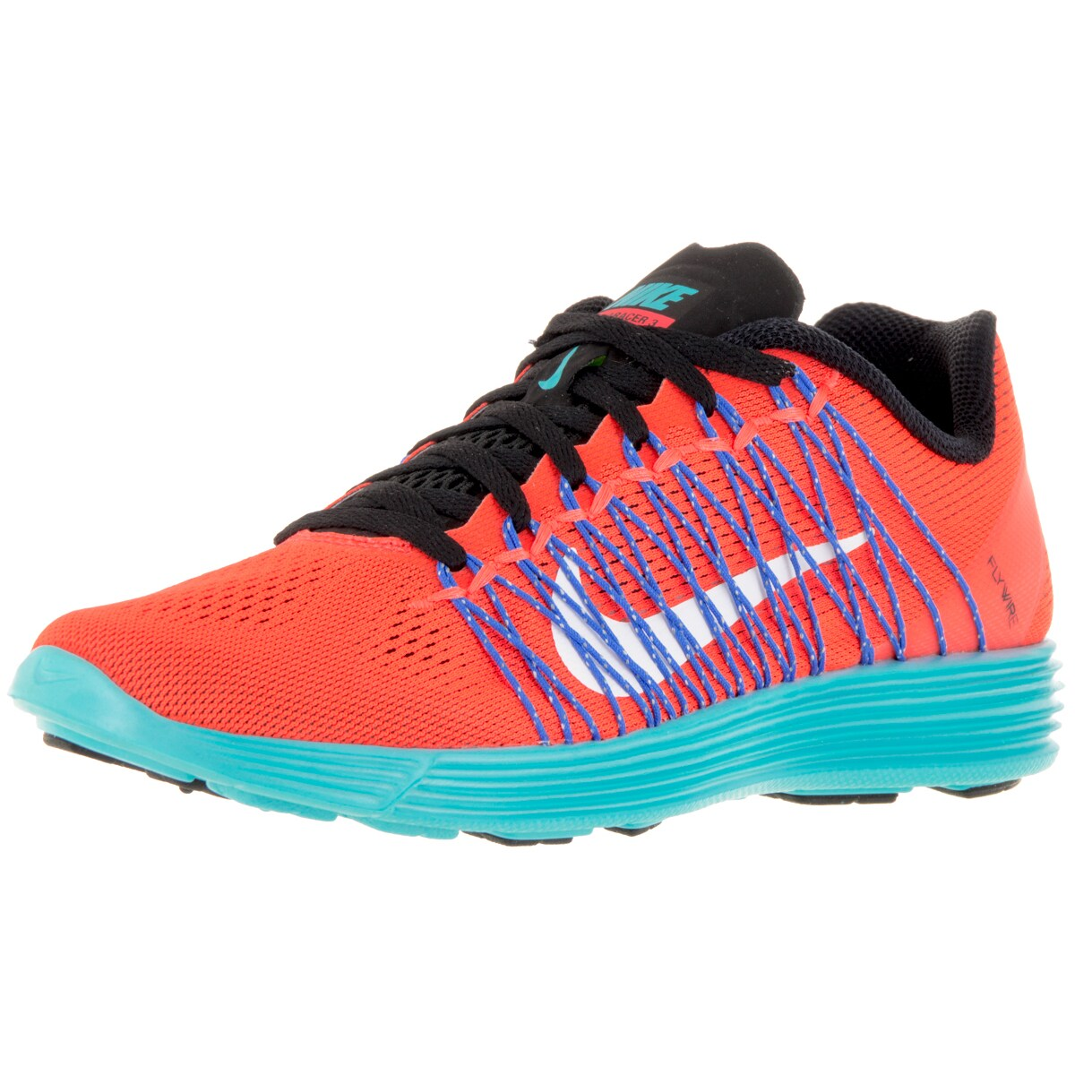 Nike Women's Lunaracer+ 3 Total Crimson/White/Gmm Bl Runn...