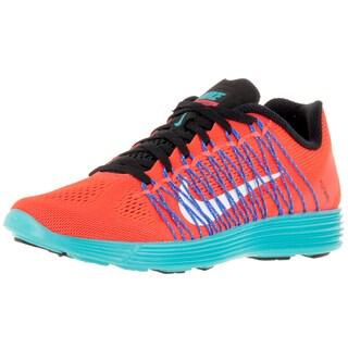 Nike Women's Lunaracer+ 3 Total Crimson/White/Gmm Bl Running Shoe
