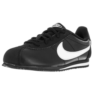 Nike Kid's Cortez (Ps) Black/White Running Shoe