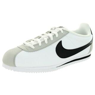 Nike Kid's Cortez (Gs) White/Black/Neutral Grey Casual Shoe