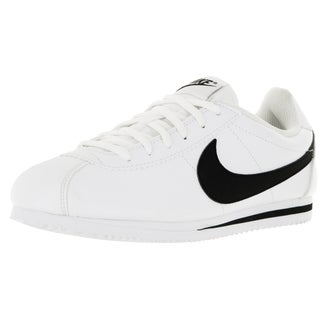 Nike Kid's Cortez (Gs) White/Black Casual Shoe
