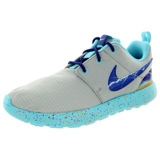 Nike Kid's Roshe One Print (Ps) Wlf /Royal Blue/University Gld Running Shoe