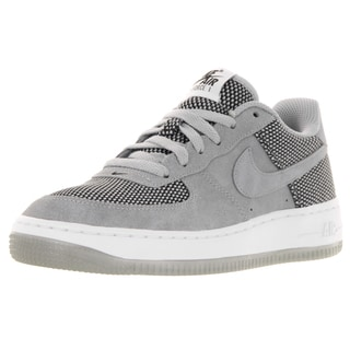 Nike Kid's Air Force 1 Premium (Gs) Wolf Grey/Wolf Grey/Black/White Basketball Shoe