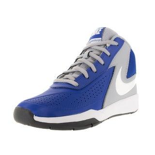 Nike Kid's Team Huse D 7 (Ps) Game Royal/White/Grey/Black Basketball Shoe