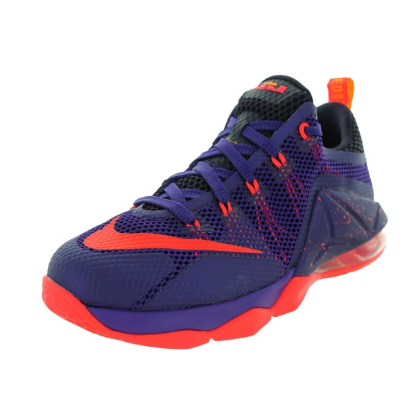 newest collection 4f069 cecb5 Nike Kid  x27 s Lebron Xii Low (Gs) Purple Brgh