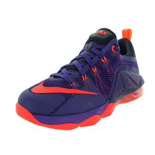 Nike Kid's Lebron Xii Low (Gs) Purple/Brgh/Cv Purple/L Basketball Shoe