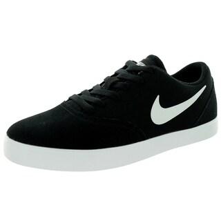 Nike Kid's Sb Check (Gs) Black/White Skate Shoe
