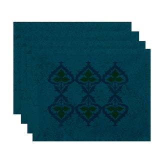 18x14-inch, Ananda, Geometric Print Placemat (Set of 4)