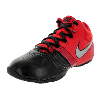 Nike Kid's Av Pro V (Gs/Ps) Black/Metallic Silver/University Red/Gym Basketball Shoe