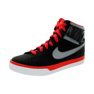 Nike Kid's Match Supreme Hi (Gs/Ps) Black/ Grey/University Red/Whi Casual Shoe