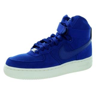 Nike Kid's Air Force 1 High (Gs) Deep Royal Blue/Royal Blueue/Sl Basketball Shoe