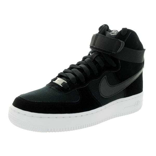 080cc48336be Shop Nike Kid s Air Force 1 High (Gs) Black Black White Basketball ...
