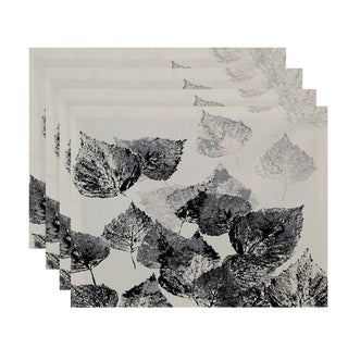 18x14-inch, Fall Memories, Floral Print Placemat (Set of 4)