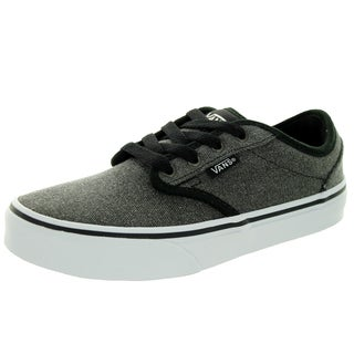 Vans Kid's Atwood (Canvas) Black Skate Shoe