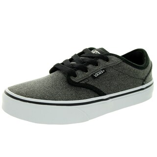 Vans Kid's Atwood (Canvas) Black Skate Shoe
