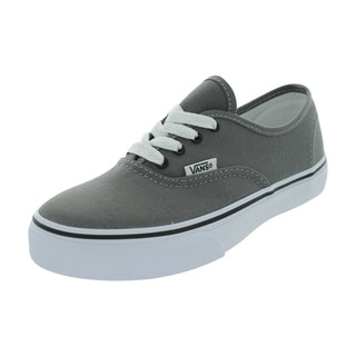 Vans Authentic Skate Shoes (Pewter/Black)