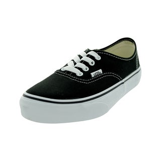 Vans Authentic Kid's Shoes (Black)