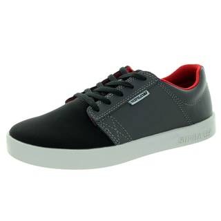 Supra Kid's Westway Black/Charcoal/White Skate Shoe