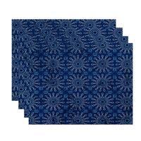 18x14-inch, Sun Tile, Geometric Print Placemat (Set of 4)