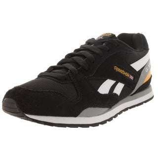 Reebok Kid's Gl 3000 Black/White/Yellow Casual Shoe
