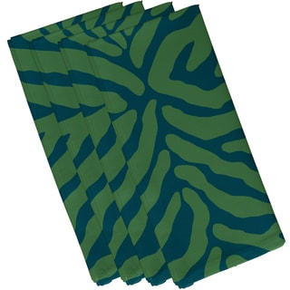 19 x 19-inch, Animal Stripe, Geometric Print Napkin (Set of 4)