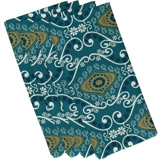 19 x 19-inch, Illuminate, Geometric Print Napkin (Set of 4)